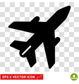 Airplane Eps Icon vector image vector image