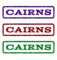 cairns watermark stamp vector image vector image