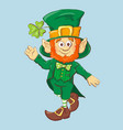collection of leprechaun for saint patricks design vector image vector image