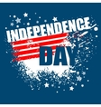 Independence Day Background Abstract grunge vector image vector image