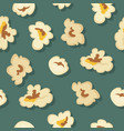 popcorn seamless pattern in flat design vector image vector image