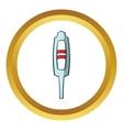 Pregnancy test icon cartoon style vector image vector image