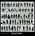 rockstars vector image