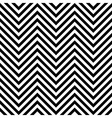 Seamless zig zag background vector image vector image