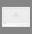 simple wall calendar september 2018 year flat vector image vector image