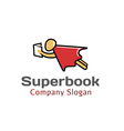 Super Book Design vector image vector image