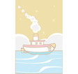 Toy Tugboat vector image vector image