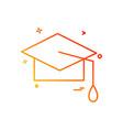 university icon design vector image