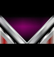 violet metal background vector image vector image
