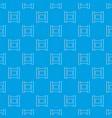 wet wipes package pattern seamless blue vector image