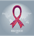 world cancer day-06 vector image