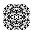 Abstract mehndi tattoo ornament vector image