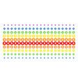 bitcoin coin shape halftone spectrum grid vector image vector image