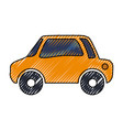 car vehicule draw vector image vector image