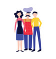 chef and cooks man and woman standing together vector image