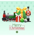 Christmas Vintage Toys Set vector image vector image