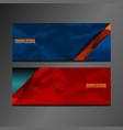 header banner texture vector image vector image