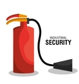 Industrial security equipment vector image vector image