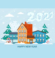 new year 2021 poster vector image