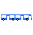 side view of a bus vector image