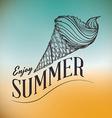 Summertime design vector image vector image
