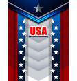 american backgrounds modern design vector image