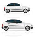 car hatchback 03 vector image vector image