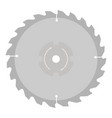 circular saw blade for wood work vector image