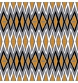 ethnic pattern with zigzag lines vector image vector image