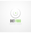 Food Logo Concept vector image