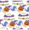 Halloween seamless pattern holiday design