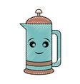 kawaii jar vector image
