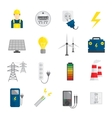 Set of Electricity Icons vector image vector image