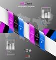 Stylized presentationoption template vector image