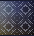 background with seamless pattern decorated vector image vector image