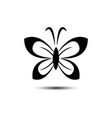 butterfly beauty business logo image vector image vector image