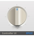 Control knob regulator vector image