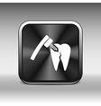 dental treatment tool icon care drilling tooth vector image vector image