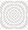 geometric checkered pattern abstract white vector image vector image