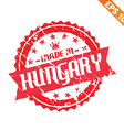 rubber stamp made in country - - eps10 vector image