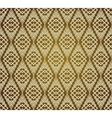 Seamless Brown Retro Pattern Background vector image