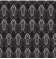 seamless texture on blackboard with cicadas vector image vector image