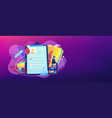 aids concept banner header vector image vector image