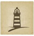beacon navigate symbol vector image vector image