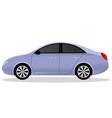 liftback car body type vector image vector image