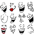 people emotions vector image vector image