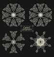 sacred geometry 0039 vector image