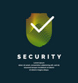 shield a symbol protection and reliability vector image vector image