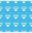 Sitemap straight pattern vector image vector image