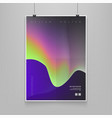 stock color cover fluid vector image vector image